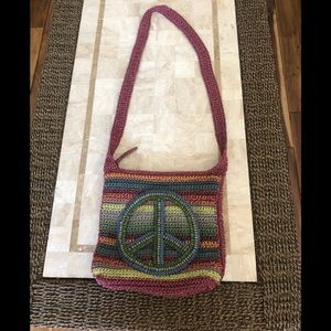 The Sac crossbody Peace Bag